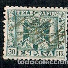 Sellos: EDIFIL TELEGRAFOS Nº 79, ESCUDO AGUILA FRANQUISTA . Lote 120836479