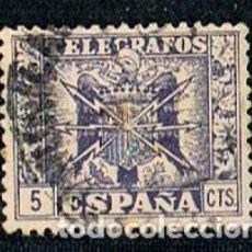 Sellos: EDIFIL TELEGRAFOS Nº 76, ESCUDO AGUILA FRANQUISTA . Lote 120836599