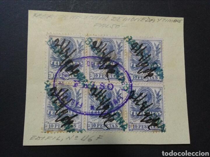 TELEGRAFOS. 1905. FALSOS POSTALES EN B6 MATASELLOS FNMT. RAROS. MARCA BARCELONA. (Sellos - España - Telégrafos)