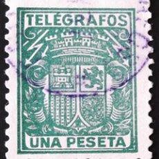 Sellos: EDIFIL, TELÉGRAFOS 73, MATASELLADO.. Lote 137424018