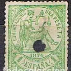 Sellos: EDIFIL 150 T, ALEGORIA DE LA REPUBLICA (PRIMERA REPUBLICA), USADO. Lote 155154946