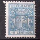 Sellos: TELÉGRAFOS, 70, NUEVO, SIN CH. ESCUDO.. Lote 160350466