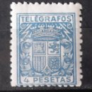 Sellos: TELÉGRAFOS, 74, NUEVO, SIN CH. ESCUDO.. Lote 160690262