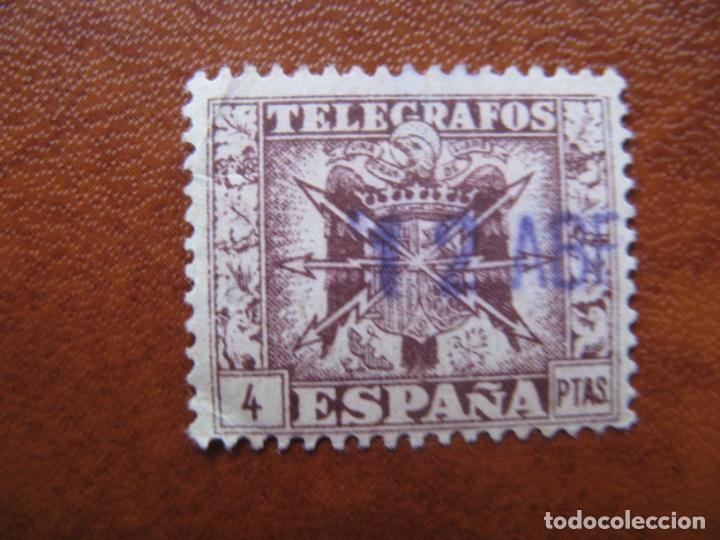 1940 TELEGRAFOS, ESCUDO DE ESPAÑA, EDIFIL 83 (Sellos - España - Telégrafos)