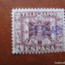 Francobolli: 1940 TELEGRAFOS, ESCUDO DE ESPAÑA, EDIFIL 83. Lote 175924568