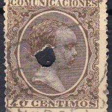 Timbres: EDIFIL Nº 223T TELEGRAFOS 40C.CASTAÑO ( 8,00 € ). Lote 176900265