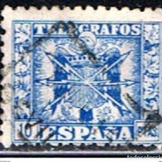 Selos: ESPAÑA // EDIFIL 84 // 1940-43 ... TELEGRAFOS ... USADO. Lote 184577683