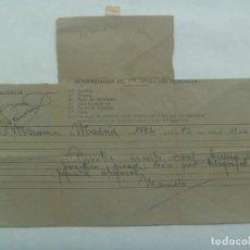 Sellos: TELEGRAMA DESDE MADRID A MAIRENA DEL ALCOR ( SEVILLA ), QUIZAS AÑOS 40. Lote 193849372