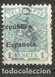 ESPAÑA TELEGRAFOS EDIFIL NUM. 67 USADO (Sellos - España - Telégrafos)