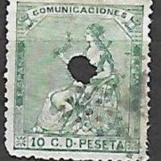 Selos: EDIFIL Nº 133T TELEGRAFOS. Lote 199590172