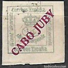 Sellos: EDIFIL CABO JUBY USADO. Lote 205527201