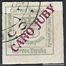Sellos: EDIFIL CABO JUBY USADO. Lote 205527245
