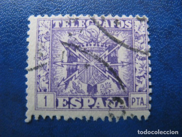 1949, ESCUDO DE ESPAÑA, EDIFIL 90 TELÉGRAFOS (Sellos - España - Telégrafos)