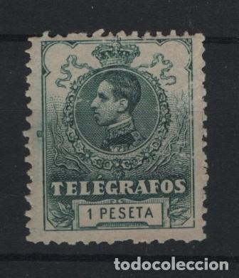 TV_001/ ESPAÑA, TELEGRAFOS, EDIFIL 52 MNH** (Sellos - España - Telégrafos)