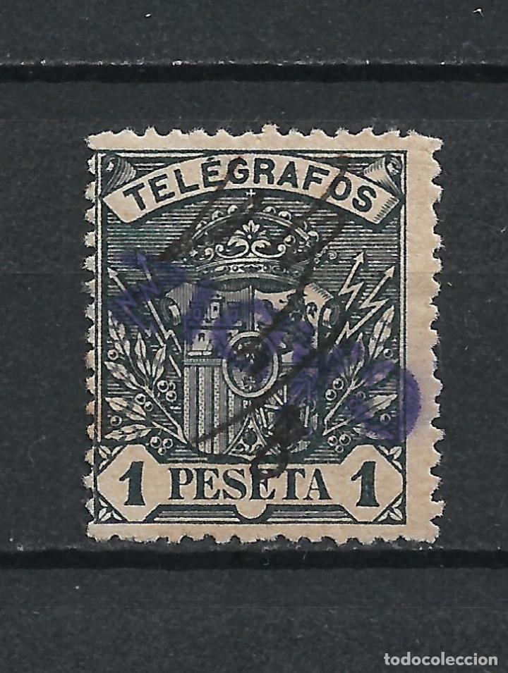 ESPAÑA TELEGRAFOS 1901 EDIFIL 36 CADIZ - 17/37 (Sellos - España - Telégrafos)