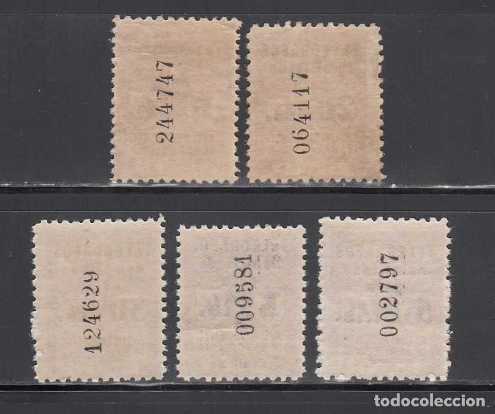 Sellos: BARCELONA, TELÉGRAFOS, 1934 EDIFIL Nº 4 / 8 /**/, SIN FIJASELLOS - Foto 2 - 222393245