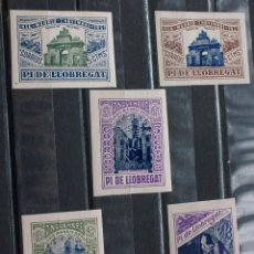 Francobolli: LOTE 11 SELLOS LOCALES BARCELONA PI DE LLOBREGAT GUERRA CIVIL. Lote 228668175