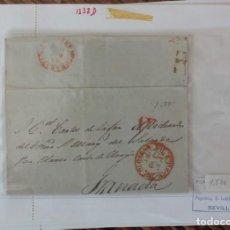 Francobolli: CARTA GRANADA HUESCAR DE 18 OCTUBRE 1951. Lote 229185570