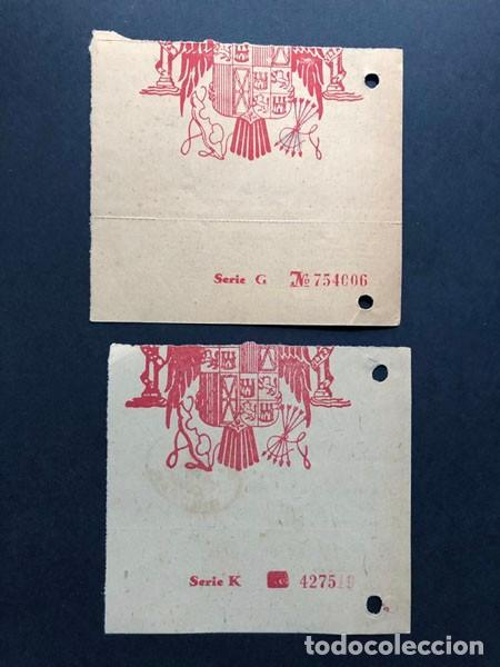 Sellos: BINEFAR / RESGUARDOS GIRO POSTAL / FRANQUEO AÑOS 1940 - 1941 / HUESCA - Foto 2 - 239455355
