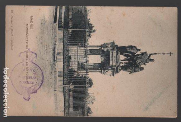Sellos: MADRID, POSTAL SELLADO- CORRRE0S Y TELEGRAFOS GABINETE PARTICULAR DE CORREOS, VER FOTOS - Foto 2 - 239553800