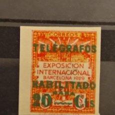 Francobolli: AÑO 1930 TELEGRAFOS NUEVO EDIFIL 2. Lote 246362360