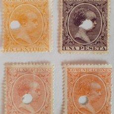 Francobolli: 1889-99 TELEGRAFOS. EDIFIL 225T/7228T. Lote 248219475