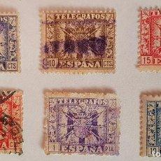 Francobolli: 1940-42 TELEGRAFOS. ESCUDO DE ESPAÑA. Lote 248230490