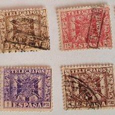 Francobolli: 1949 TELEGRAFOS. EDIFIL 85/92 ESCUDO DE ESPAÑA. Lote 248234330