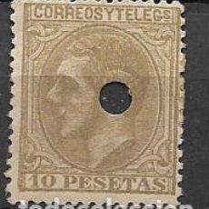 Sellos: TELEGRAFOS,- 10 PTA,- EDIFIL Nº 209T. VER FOTO. Lote 262341015
