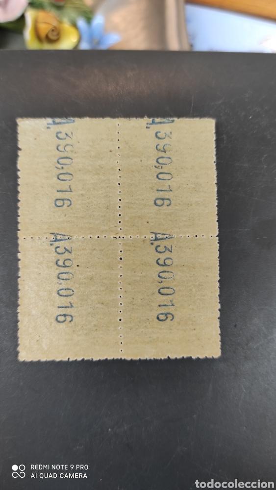 Sellos: España Sellos telégrafos edifil 52 nuevo perfecto bloque cuatro 60€ catalogo - Foto 2 - 264139275