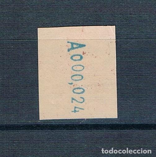 Sellos: ESPAÑA TELEGRAFOS 54 SIN DENTAR MNH** CON GOMA ORIGINAL LUJO ALTO VALOR NÚMERO BAJO VALOR CLAVE - Foto 2 - 265657144