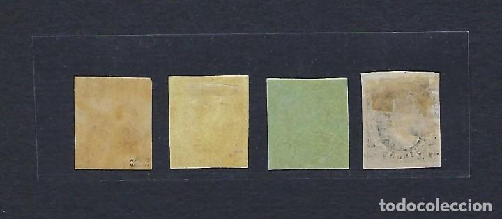 Sellos: ESPAÑA. Telégrafos . Año 1865. Isabel II. - Foto 2 - 269654583