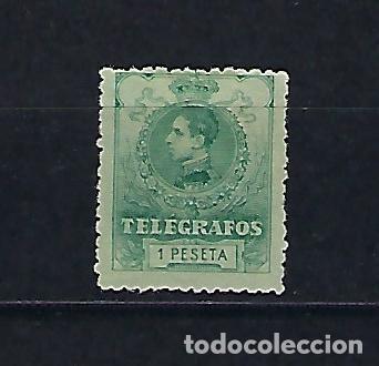 ESPAÑA. AÑO 1912. ALFONSO XIII. (Sellos - España - Telégrafos)