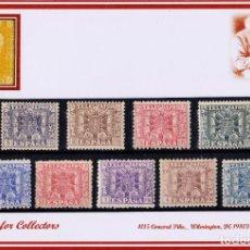 Sellos: EDIFIL 76/84 TELEGRAFOSL, NUEVOS, CON Y SIN FIJASELLOS. Lote 269703648