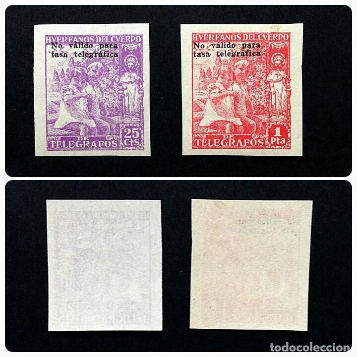 ESPAÑA.AÑO 1938.HUERFANOS DE TELEGRAFOS-BENEFICENCIA. (Sellos - España - Telégrafos)
