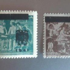 Francobolli: BENEFICENCIA. 1941. NE35 Y 36 **.. Lote 271831553