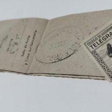 Sellos: RECIBO DE TELEGRAMA AÑOS 50 CON SELLO. Lote 276773908