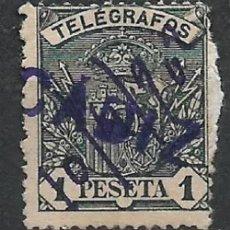 Timbres: ESPAÑA TELEGRAFOS 1921 EDIFIL 60 USADO CADIZ - 7/2. Lote 285539508