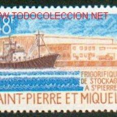 Sellos: SAINT PIERRE ET MIQUELON - FRIGORIFICO DE STOCKAJE EN SAN PEIRRE. Lote 25334910