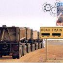 Sellos: AUSTRALIA 2008.- TARJETA MAXIMA.- TRANSPORTES PESADOS.-. Lote 8515281