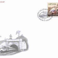 Sellos: LITUANIA 2005 . SOBRE PRIMER DIA. MONUMENTOS TECNICOS. TUNEL DE LA LINEA FERREA DE KAUNAS. Lote 2990189