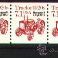 Sellos: USA 1989 TRACTOR PRECANCELADO . Lote 12023183