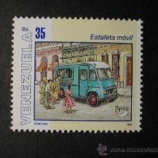 Sellos: VENEZUELA 1994 CAMION ESTAFETA MOVIL DE CORREOS - YVERT Nº 1719. Lote 28981057