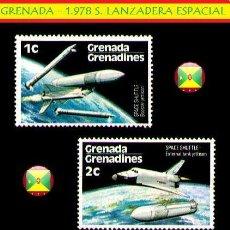 Sellos: SELLOS ESPACIO - GRENADA 1.978 S. LANZADERA ESPACIAL VAL 1C Y 2C (AHORRA GASTOS COMPRANDO MAS SELLO). Lote 15754290