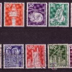 Sellos: ALEMANIA 695/708 - AÑO 1975 - CIENCIA Y TÉCNICA. Lote 15789832