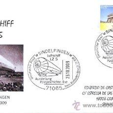 Sellos: ALEMANIA 2009. MATASELLO ESPECIAL. DIRIGIBLE LUFTSCHIFF LZ 5. Lote 16365715