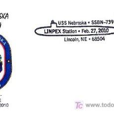 Sellos: SUBMARINO USS NEBRASKA SSBN-739. Lote 18629947