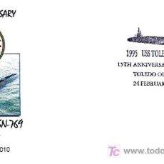 Sellos: SUBMARINOS - USS TOLEDO SSN-769. Lote 18899798