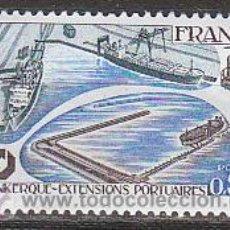 Sellos: FRANCIA IVERT Nº 1925, AMPLIACIÓN DE LA INSTALACIONES PORTUARIAS DE DUNKERQUE, NUEVO. Lote 19140767