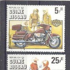 Sellos: MOTOS- GUINEA BISSAU 1985- PRECANCELADOS. Lote 22193653
